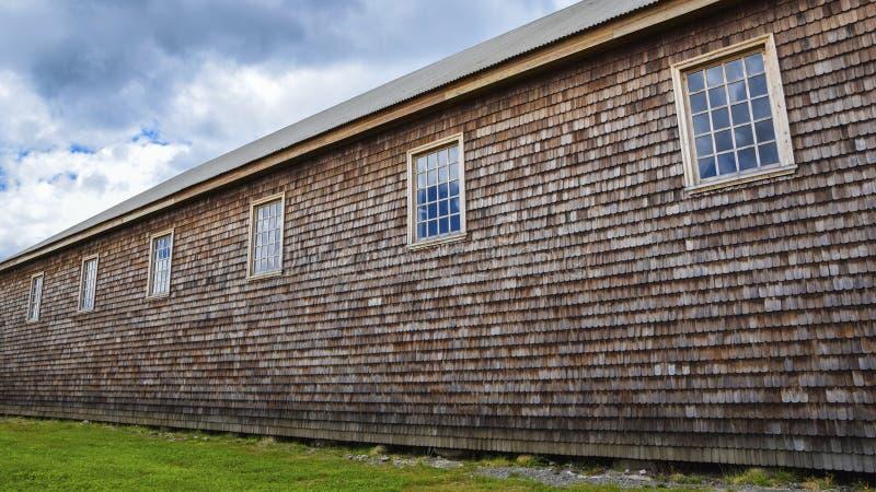 美国- Chiloe的教会 免版税库存照片