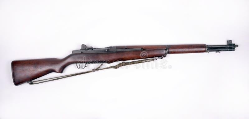 美国garand m1步枪 免版税库存照片