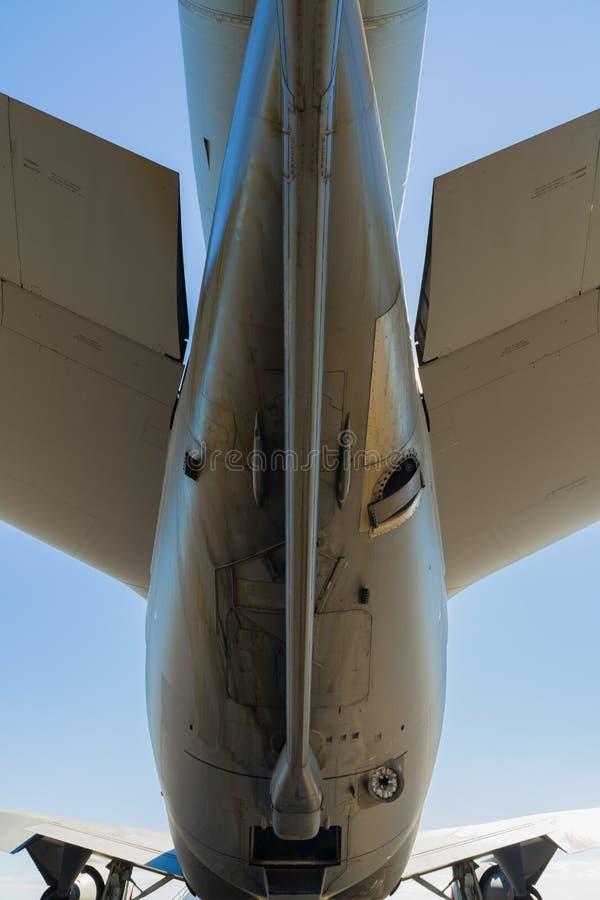 美国KC-10增量剂喷气机飞机 免版税库存照片