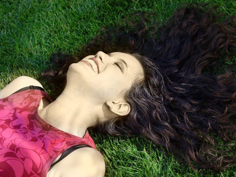 Download 美好女孩笑 库存图片. 图片 包括有 查找, 女孩, brunhilda, beautifuler, 头发, browne - 63823