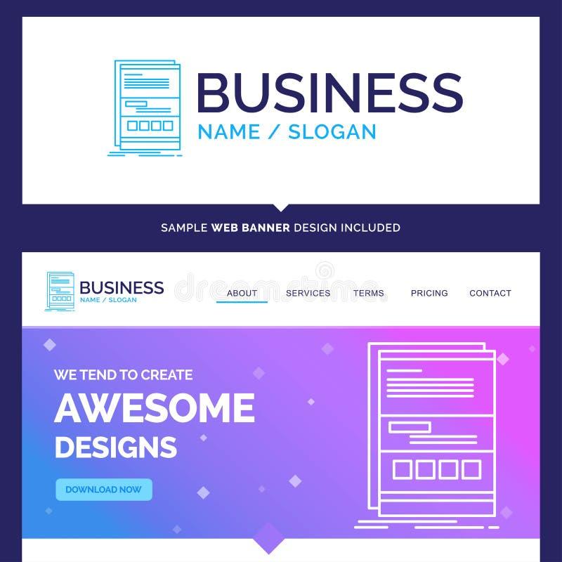 美好的企业概念名牌浏览器,动力学,互联网 皇族释放例证