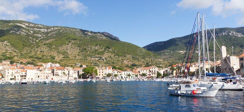 美好的克罗地亚海岛10月力 免版税库存照片