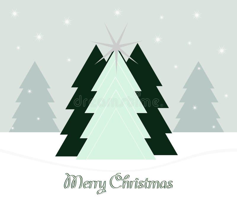 美好的圣诞节例证结构树向量 免版税库存图片
