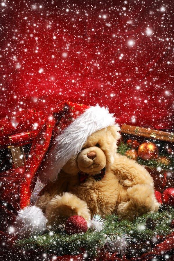 美好的圣诞节背景 免版税库存照片