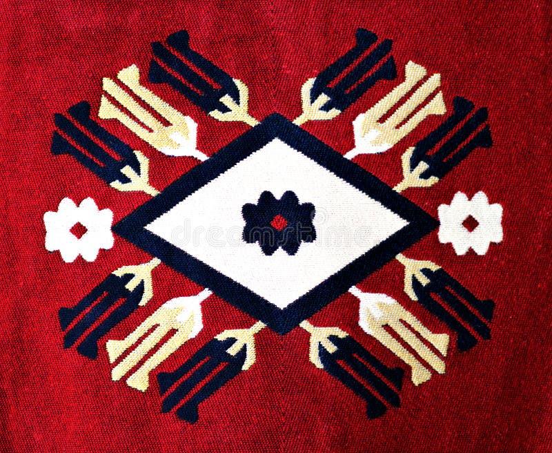 美好的地毯主题 库存图片