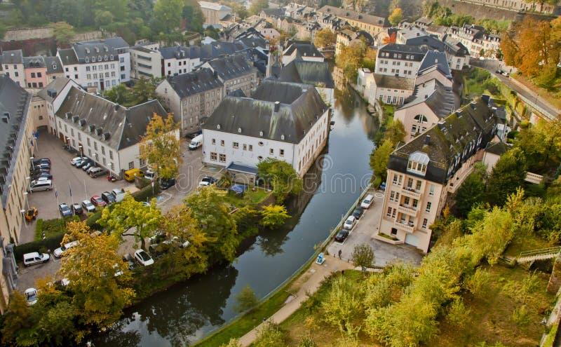 美好的场面在卢森堡 免版税库存照片