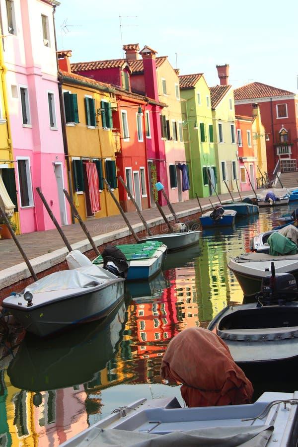 美好的夏天在威尼斯意大利 免版税库存图片