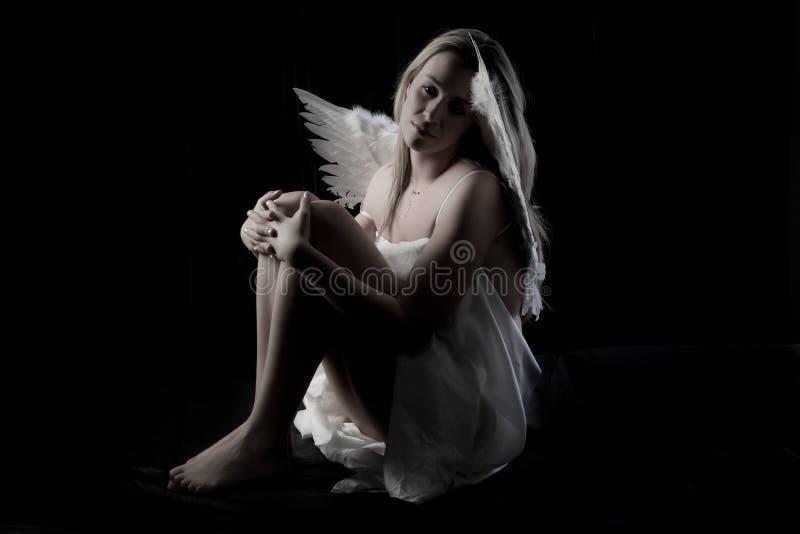 美好的天使 图库摄影