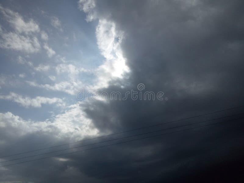美好的天空图象7008 免版税库存图片