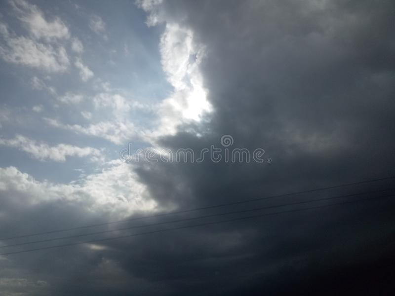 美好的天空图象709 图库摄影