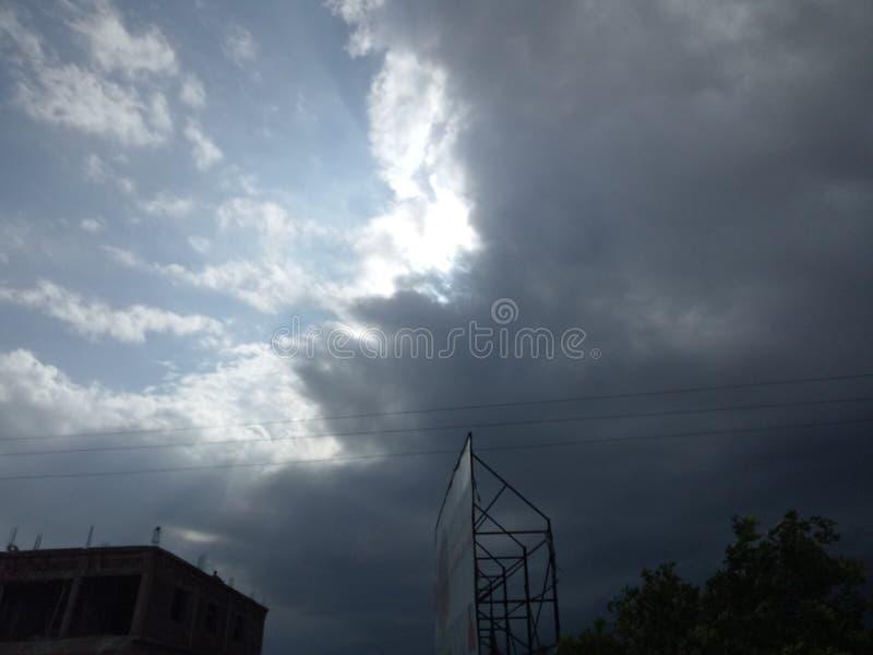 美好的天空图象710 免版税库存照片