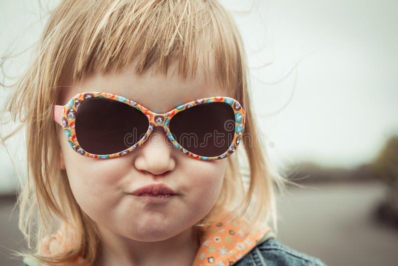 美好的女孩liitle 免版税库存图片