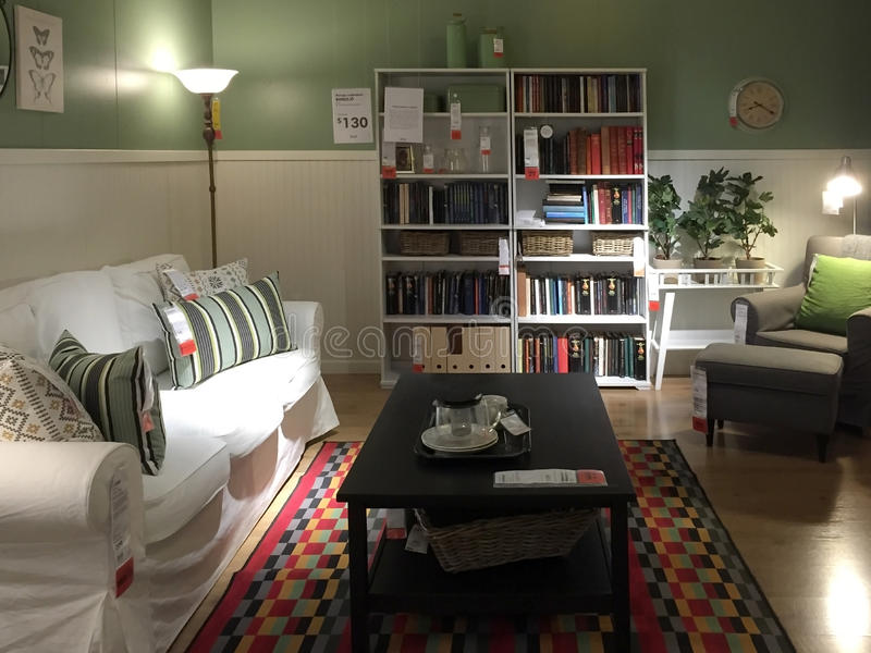美好的客厅背景 库存图片