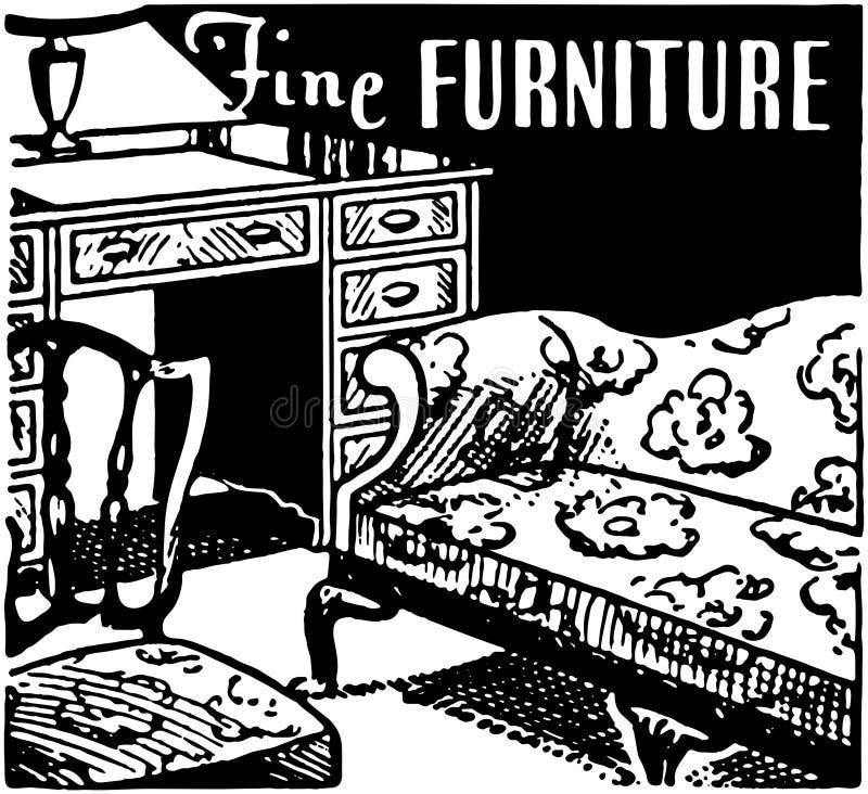 美好的家具2 库存例证