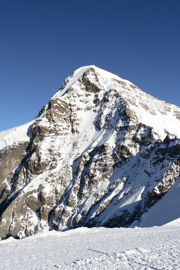 美好的山峰 图库摄影