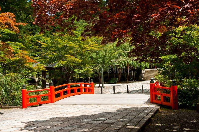 美好的庭院日语 免版税库存照片