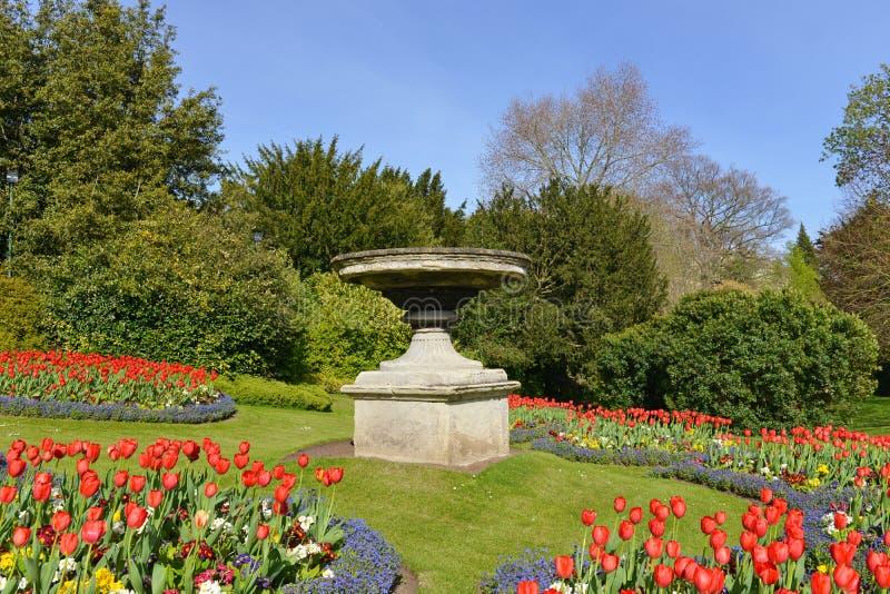 美好的庭院横向 免版税库存图片