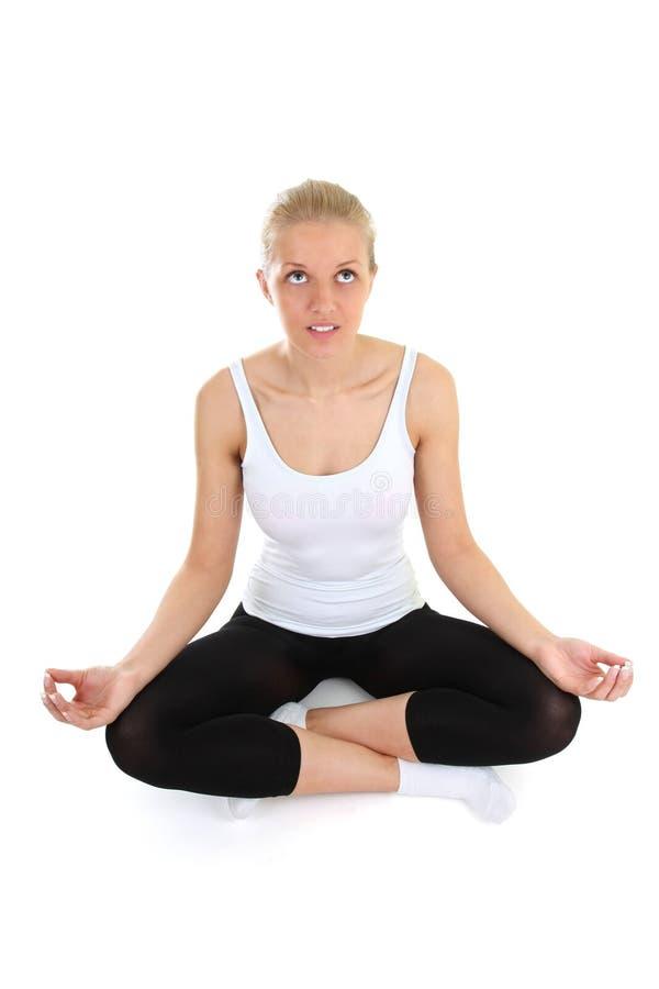 Download 美好的执行的女子瑜伽 库存图片. 图片 包括有 饮食, 执行, 白种人, 姿势, 健身, 女性, 讲师, 健康 - 22353831
