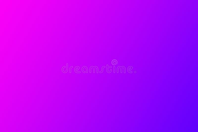 美好的抽象霓虹焕发,霓虹背景 桃红色淡紫色蓝色梯度 库存图片