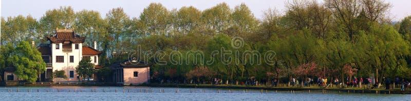 美好的春天风景吸引力 免版税库存照片