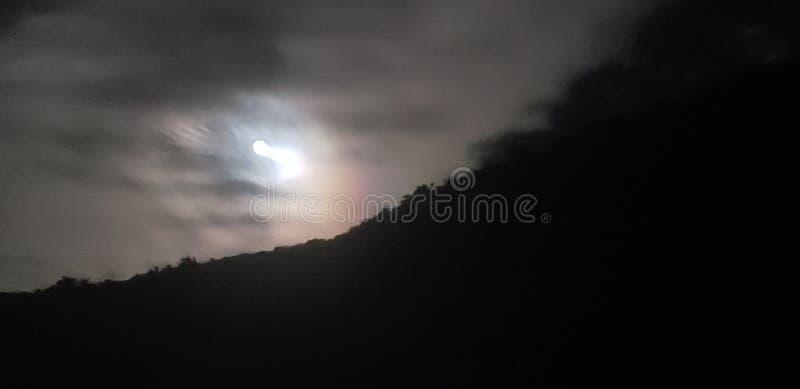 美好的月光 免版税库存照片