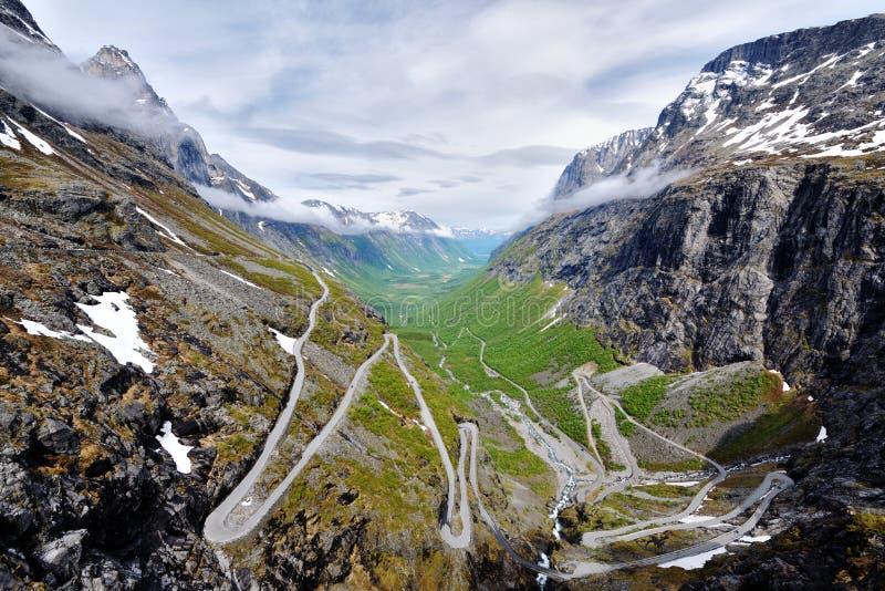 美好的横向挪威 免版税图库摄影