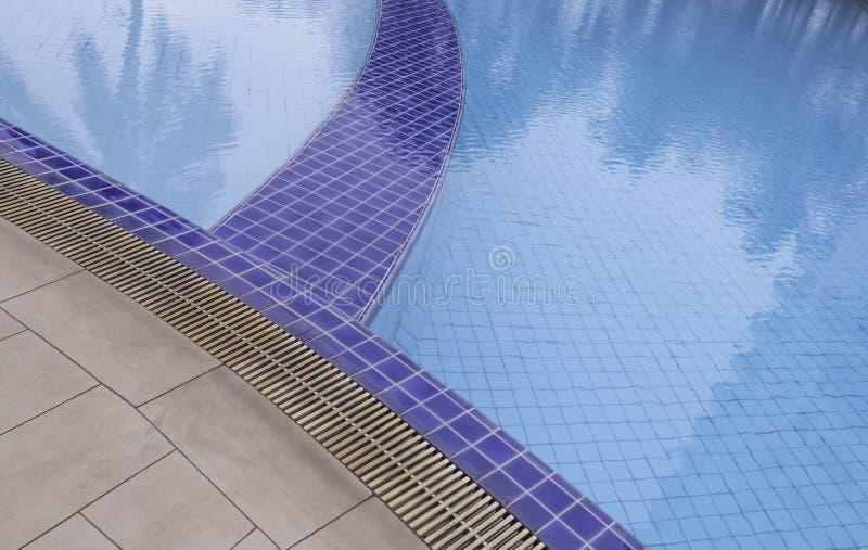 美好的池游泳 免版税库存照片