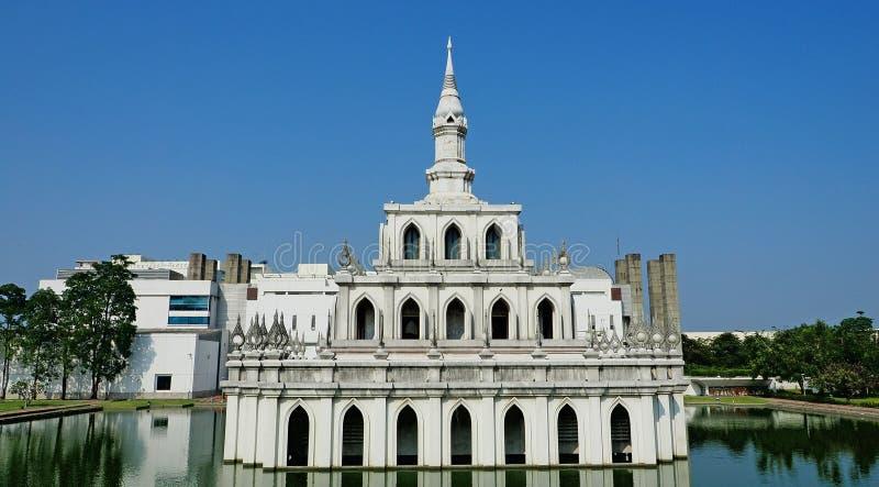 美好的泰国结构 免版税图库摄影