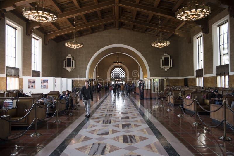 美好的洛杉矶联合驻地 库存照片