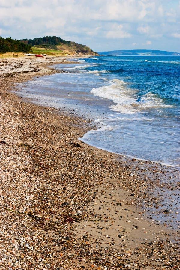 美好的海岸线 免版税库存图片