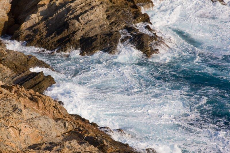 美好的海岸线 图库摄影