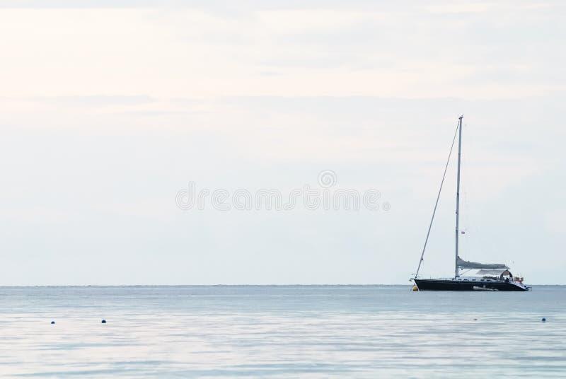 美好的海景场面 免版税库存图片