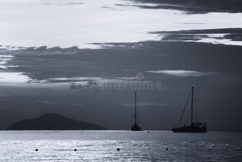 美好的海景场面 免版税库存照片