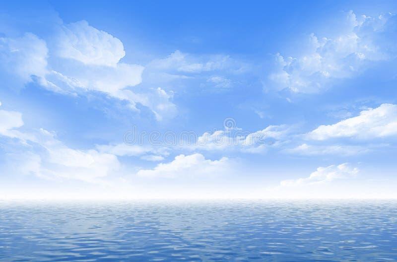 美好的海景 免版税库存图片