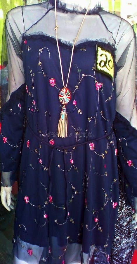美好的礼服设计 库存图片