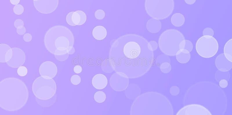 美好的紫色和淡紫色Bokeh背景 图库摄影