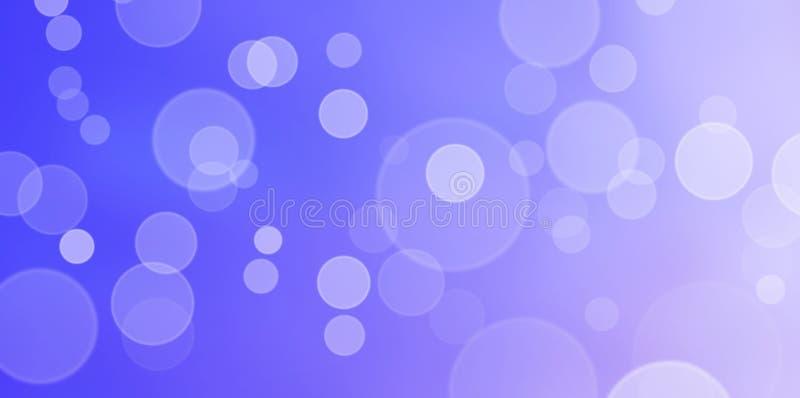 美好的紫色和淡紫色Bokeh背景 免版税库存图片
