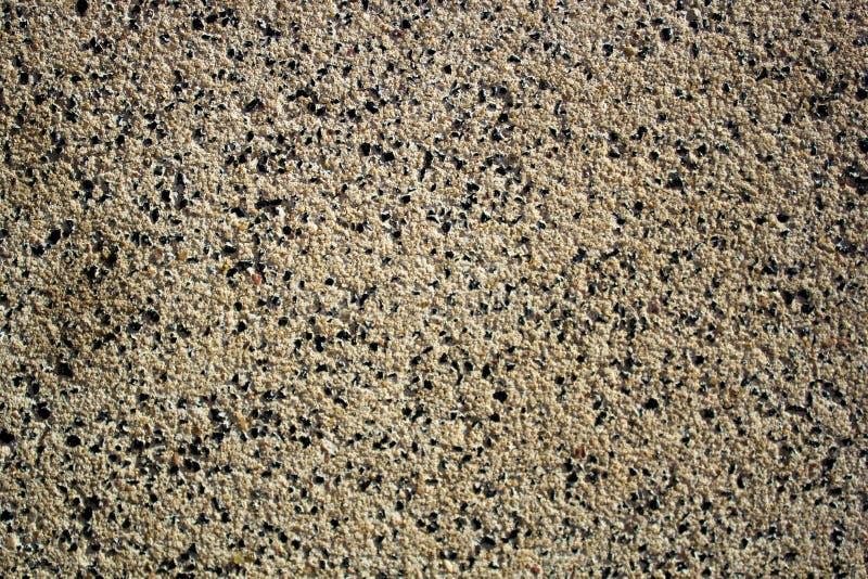 美好的肮脏的沙子,石渣,地球大微粒  免版税图库摄影
