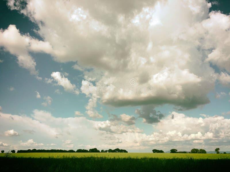 美好的自然风景,在捷克共和国的自然 免版税库存图片