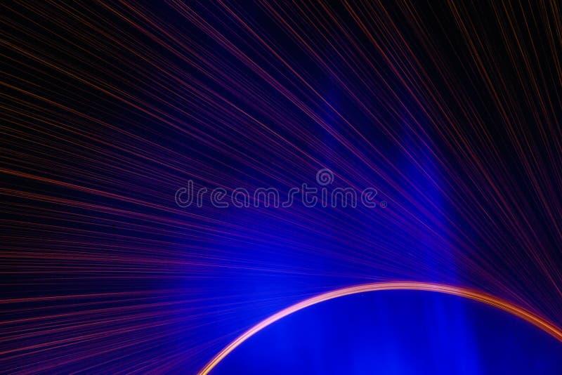 美好的蓝色和redï ¼›命中电烙花 库存照片
