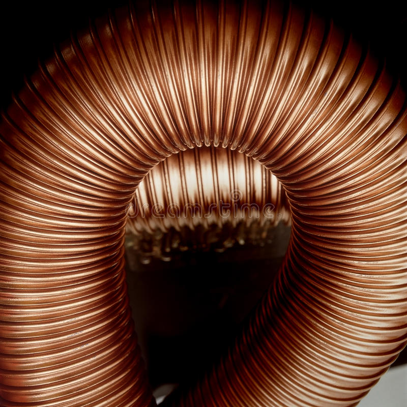 美好的被翻动的管clotshes典雅的fabrik 库存照片
