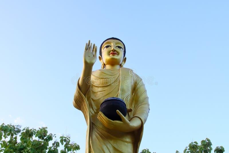 美好的雕塑,纪念碑,寺庙在泰国 图库摄影