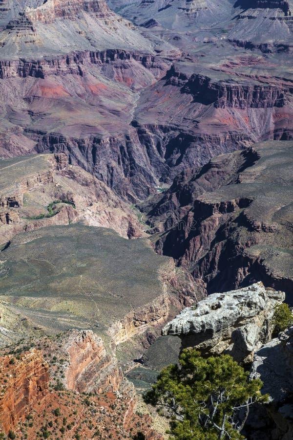 美好的颜色Ay大峡谷 图库摄影