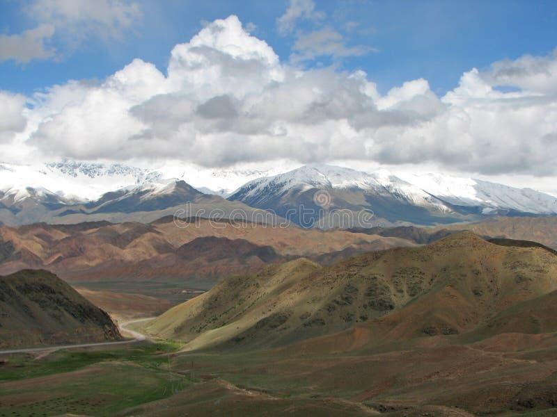 美好的风景吉尔吉斯斯坦 免版税库存图片