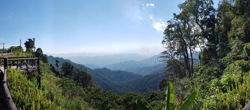 美好的风景在北部泰国 免版税库存图片