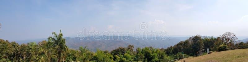 美好的风景在北部泰国 免版税库存照片