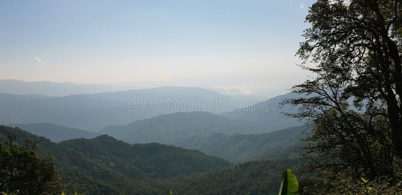 美好的风景在北部泰国 库存图片