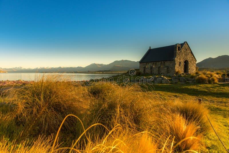 美好的风景新西兰。 库存图片