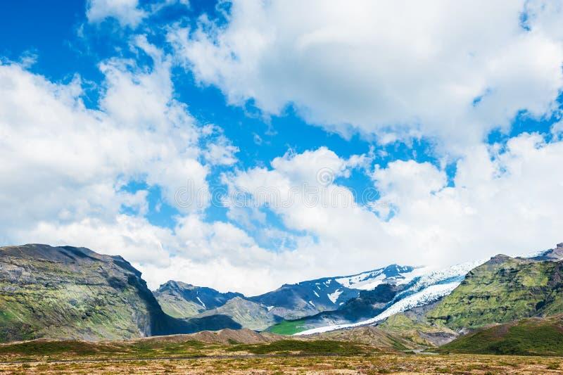 美好的风景有山景 图库摄影
