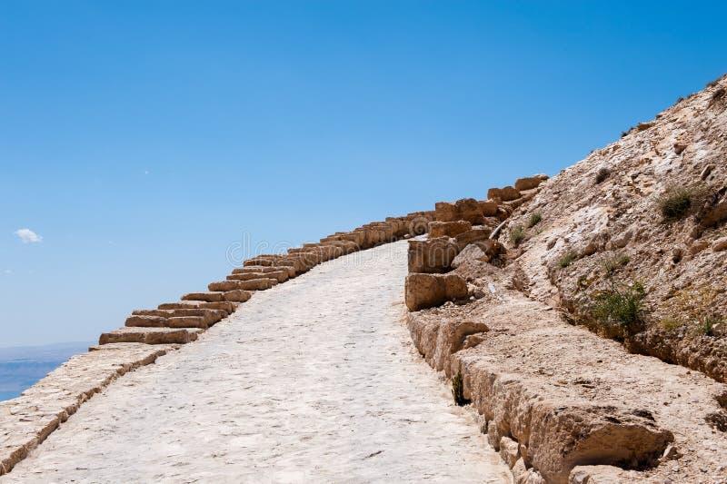 美好的风景约旦 免版税库存图片